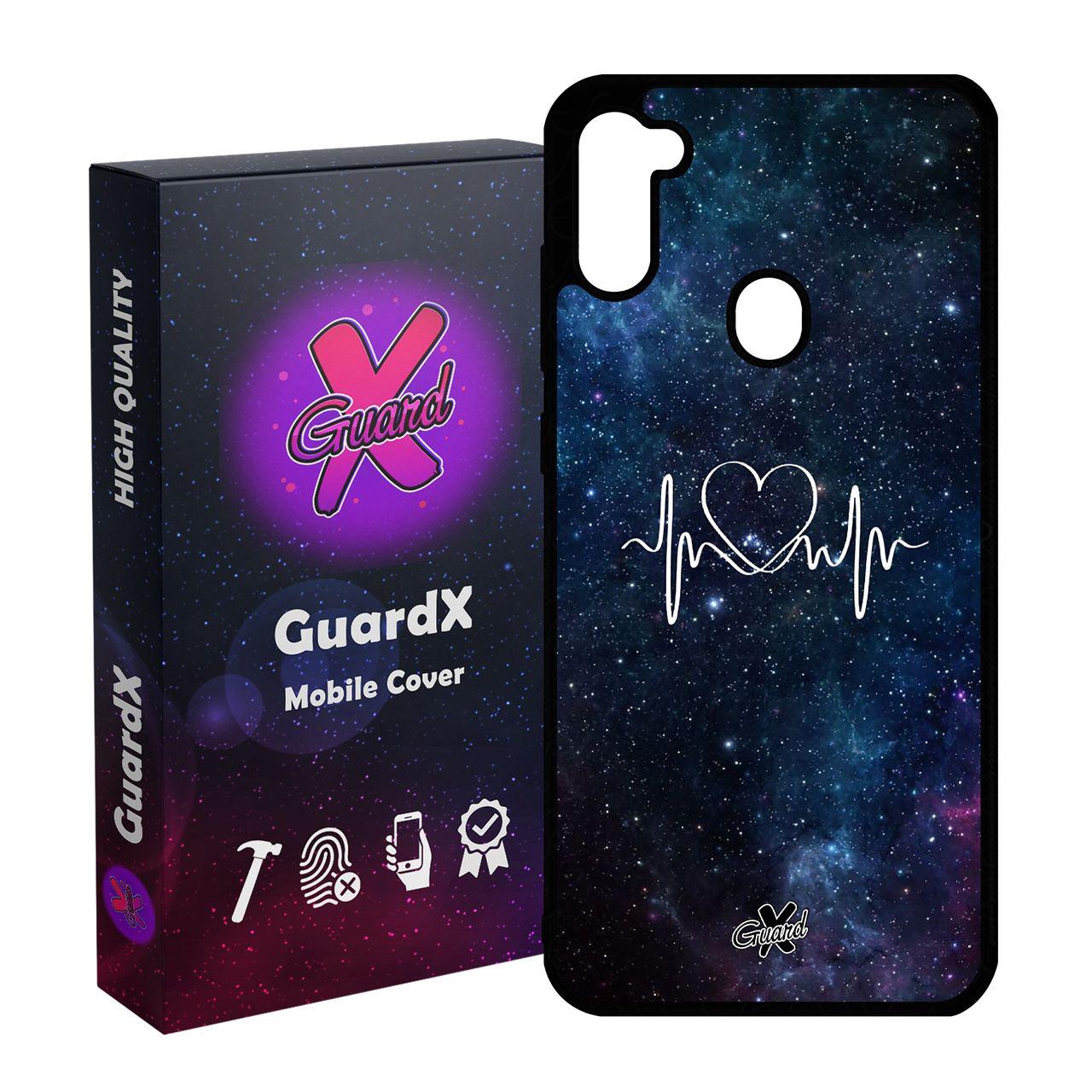کاور گارد ایکس طرح Love مدل Glass10114 مناسب برای گوشی موبایل سامسونگ Galaxy A11 / M11