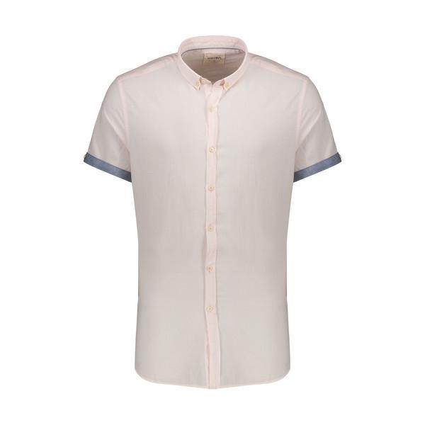 پیراهن آستین کوتاه مردانه کوتون مدل 8YAM61081BW-250