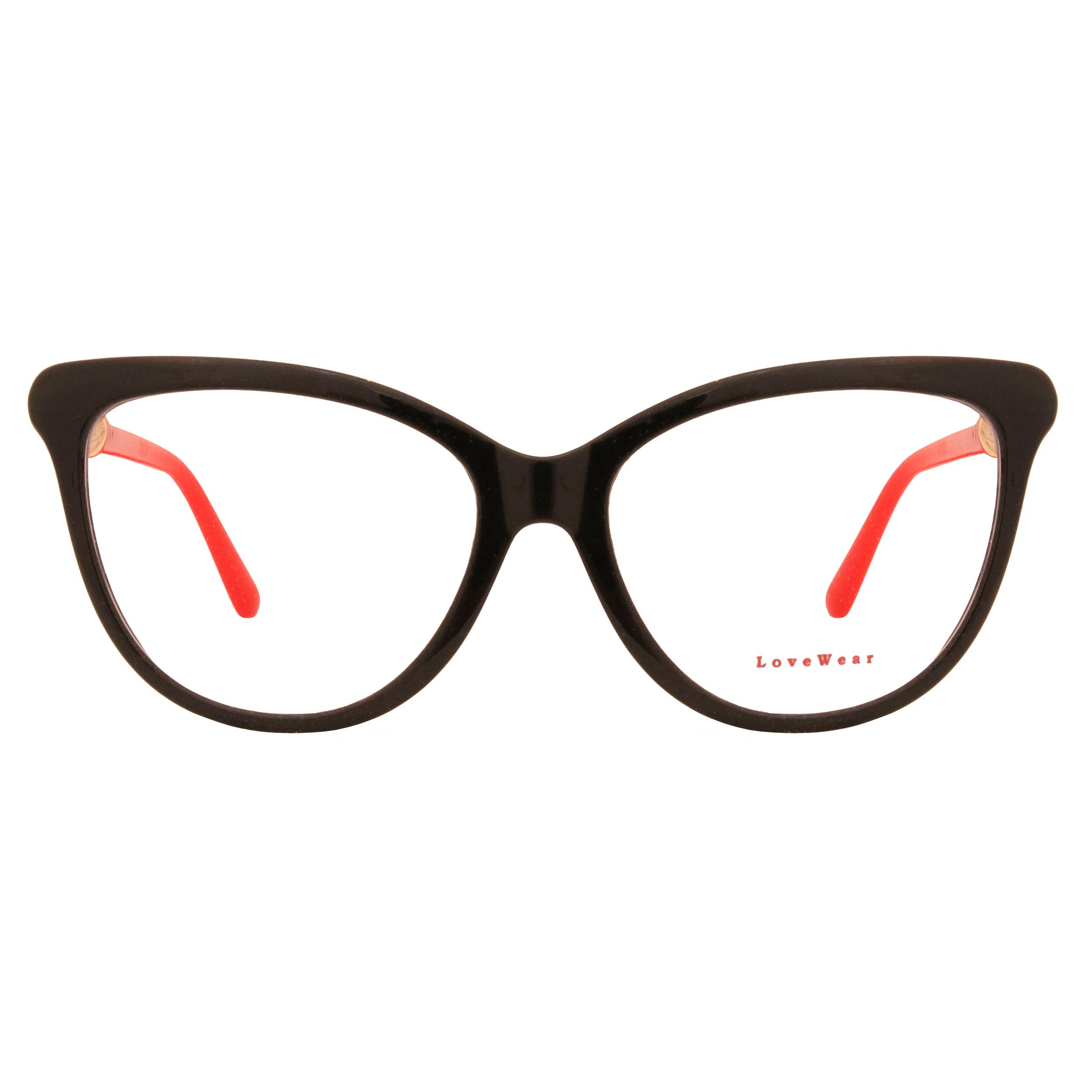 فریم عینک طبی زنانه لاو ور مدل 174LUX