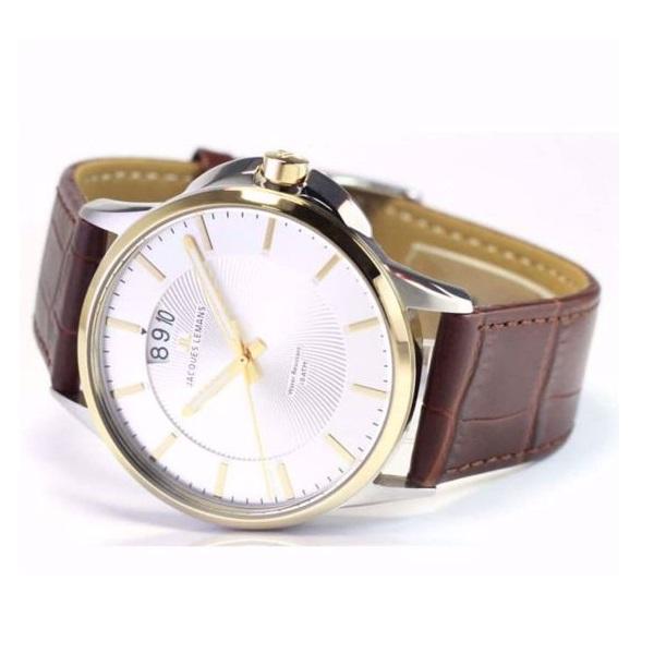 ساعت مچی عقربهای مردانه ژاک لمن مدل 1-1540H