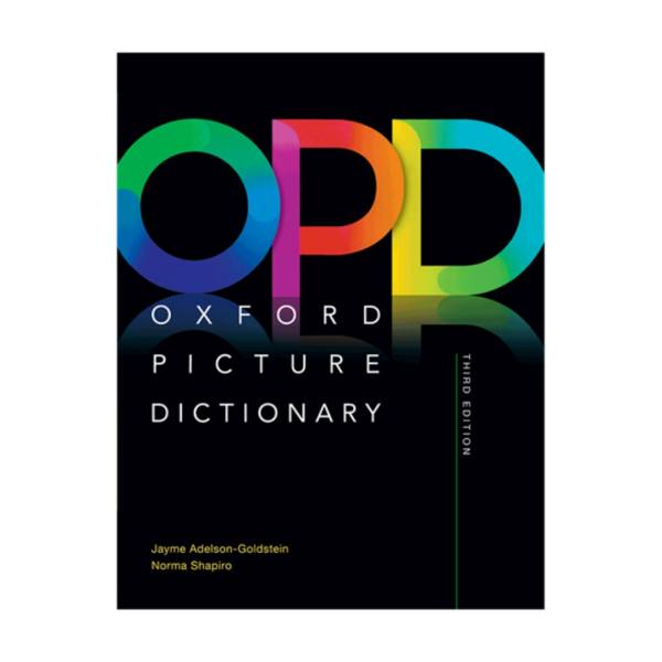کتاب Oxford Picture Dictionary 3rd Digest Size Hard Cover اثر Jayme Adelson انتشارات آکسفورد