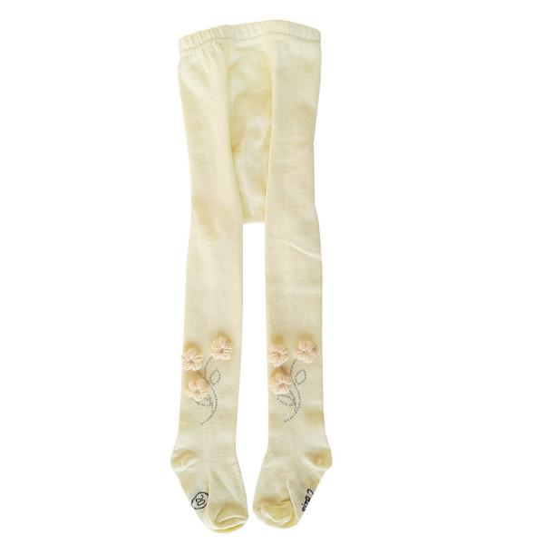جوراب شلواری دخترانه مدل شکوفه
