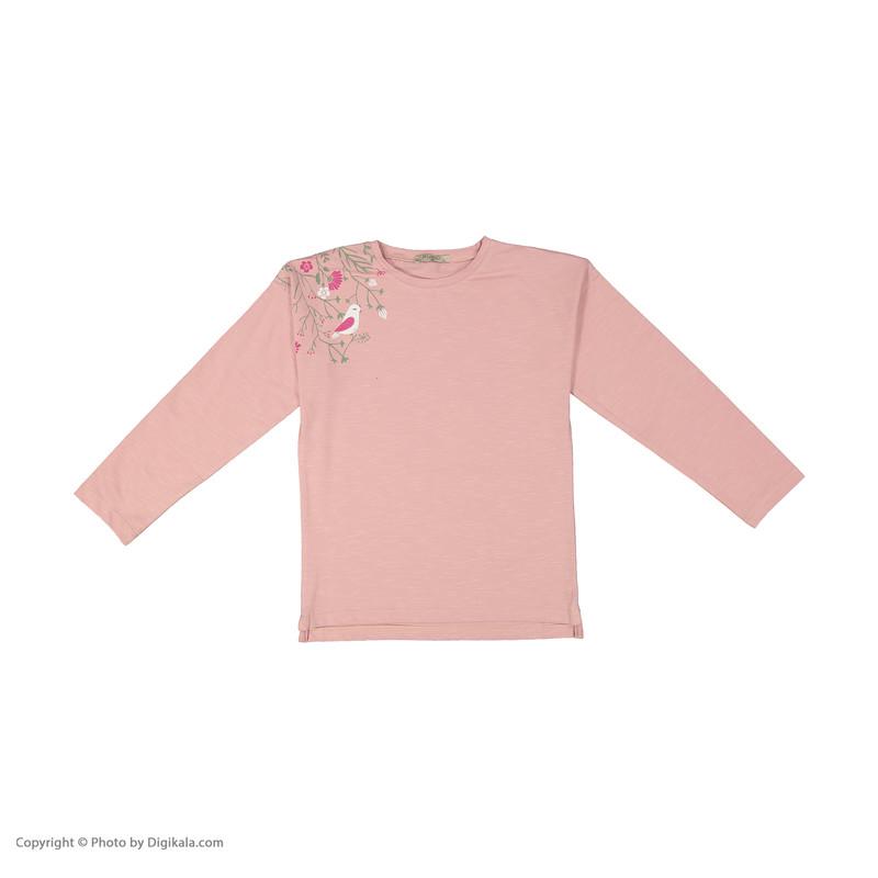 ست تی شرت و لگینگ دخترانه پیانو مدل 1009009901674-82