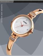 ساعت مچی عقربه ای زنانه اسکمی مدل 1409RG-NP -  - 3