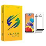 محافظ صفحه نمایش فلش مدل +HD مناسب برای گوشی موبایل سامسونگ Galaxy M01s بسته سه عددی