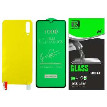 محافظ صفحه نمایش وپشت گوشی روبیکس مدل CR-A70s مناسب برای گوشی موبایل سامسونگ Galaxy A70s