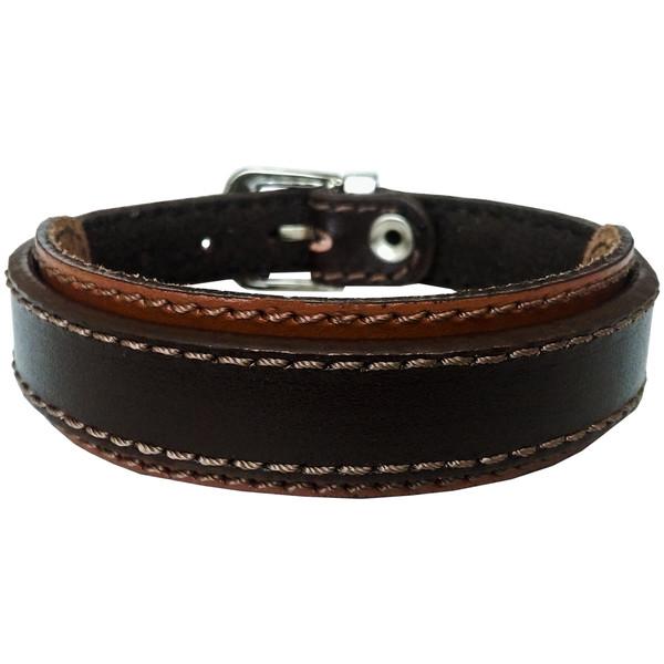 دستبند چرم وارک مدل رهام کد rb211