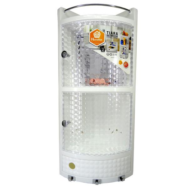 قفسه حمام هوم کت مدل تیارا کد 4141