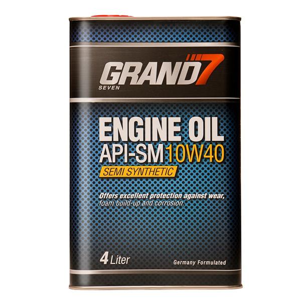 روغن موتور گرند سون مدل 10W40 SM حجم 4000 میلی لیتر