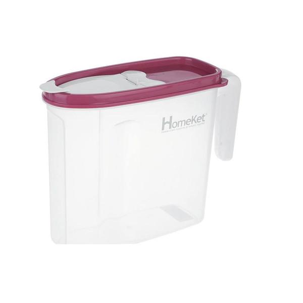 ظرف پودر رختشویی هوم کت مدل شفاف