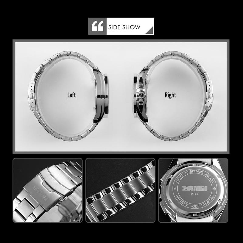 خرید                                     ساعت مچی عقربهای مردانه اسکمی مدل 9167