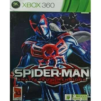 بازی SPIDER-MAN SHATTERED DIMENSIONS مخصوص XBOX 360