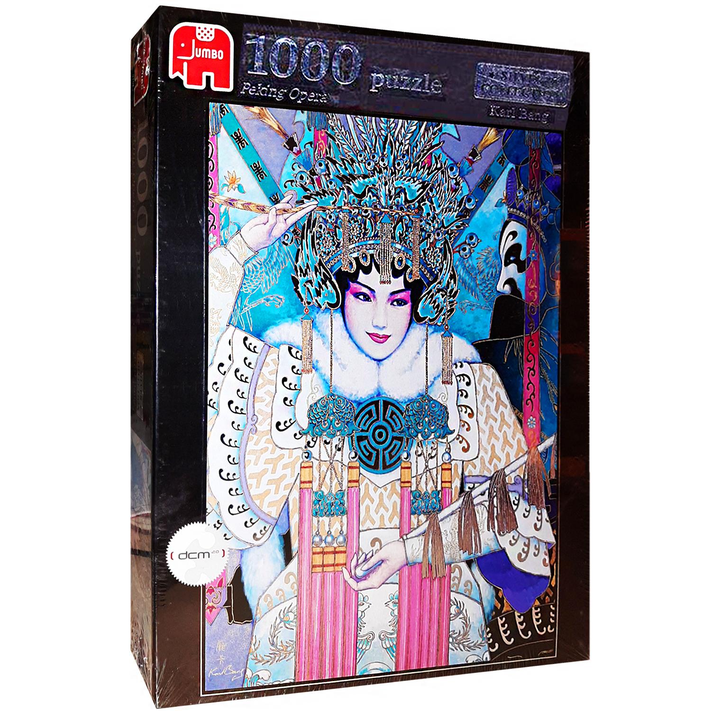 پازل 1000 تکه جامبو طرح Peking Opera