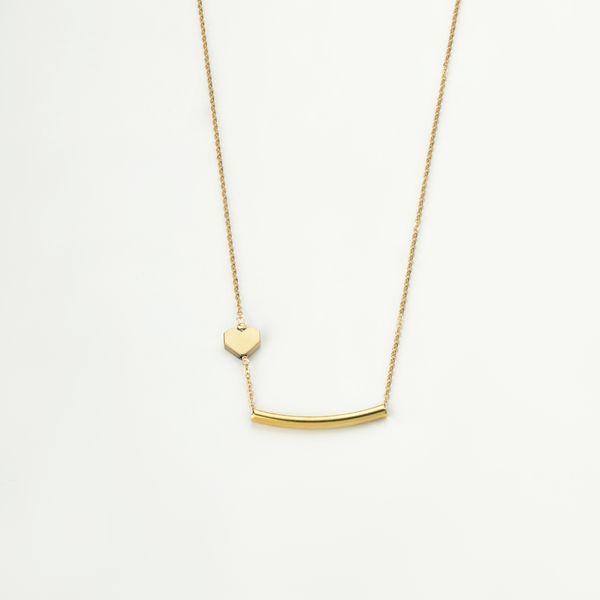 گردنبند طلا 18 عیار زنانه مدل MM99