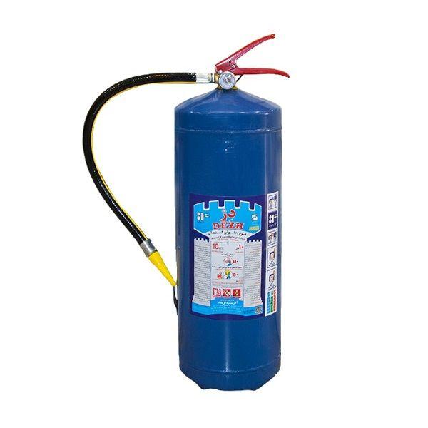 کپسول آتش نشانی دژ مدل آب و گاز وزن 10 کیلوگرم