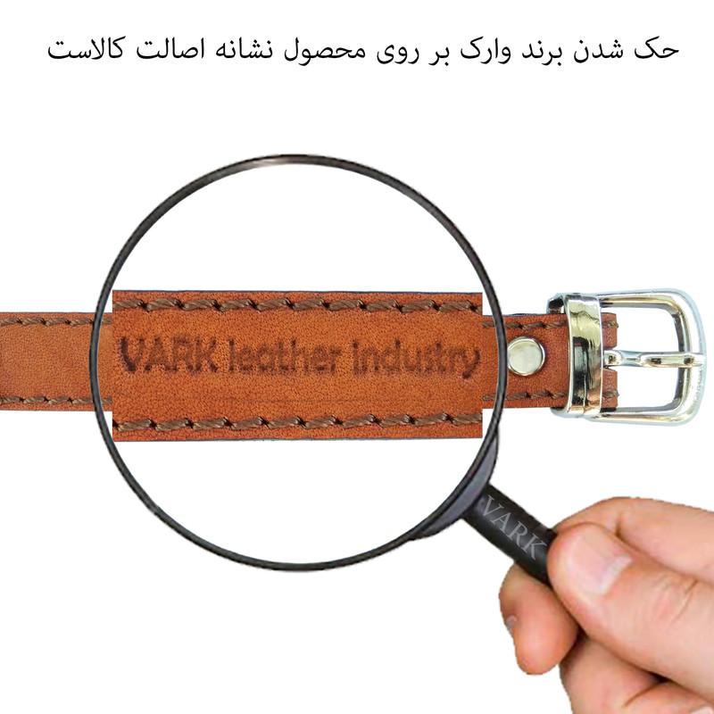دستبند چرم وارک طرح نماد آبان مدل پرهام کد rb65