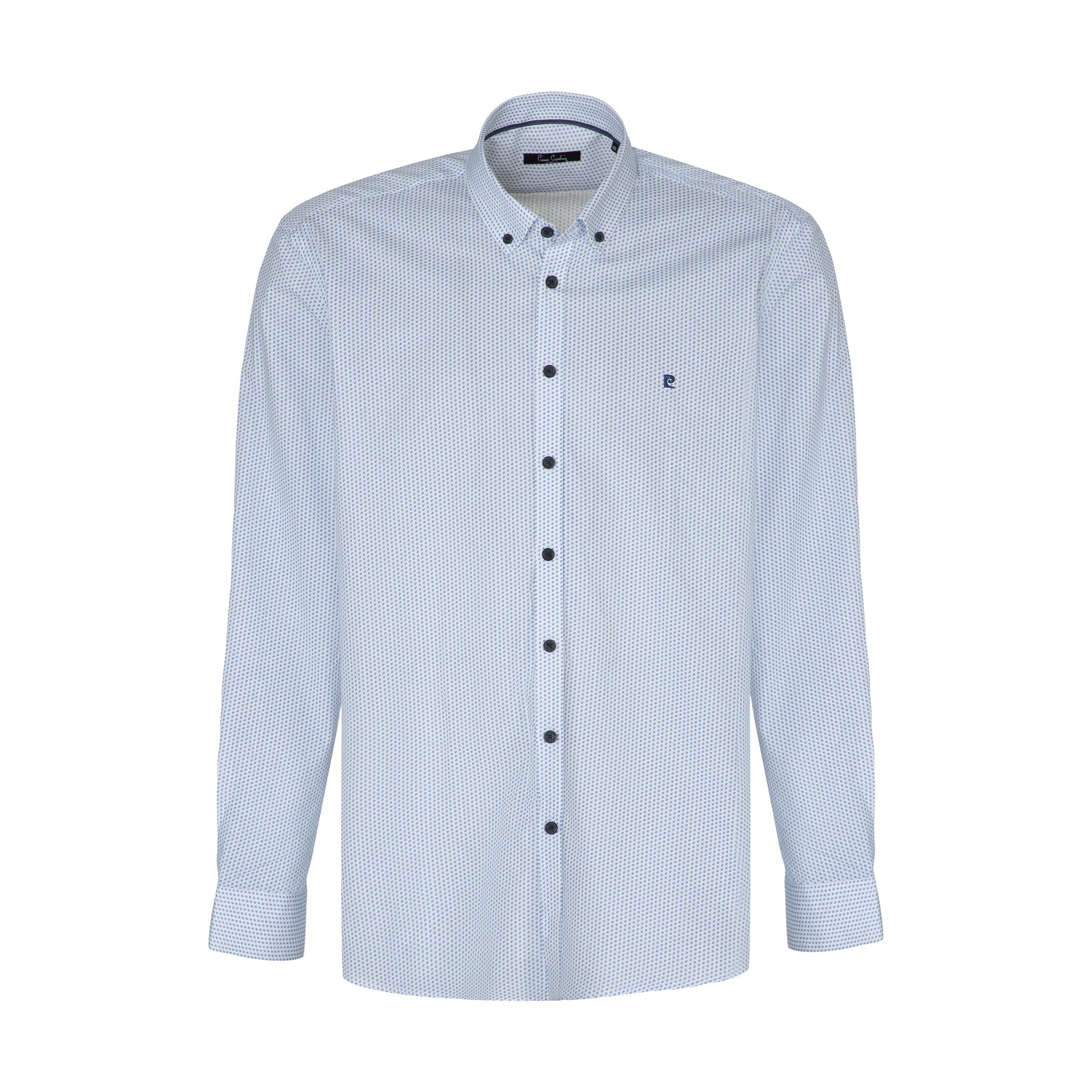 پیراهن آستین بلند مردانه پیر کاردین مدل P -2300