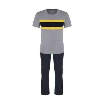 ست تی شرت و شلوار مردانه ایندور مدل 1258