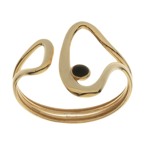انگشتر طلا 18 عیار زنانه مایا ماهک مدل MR0593