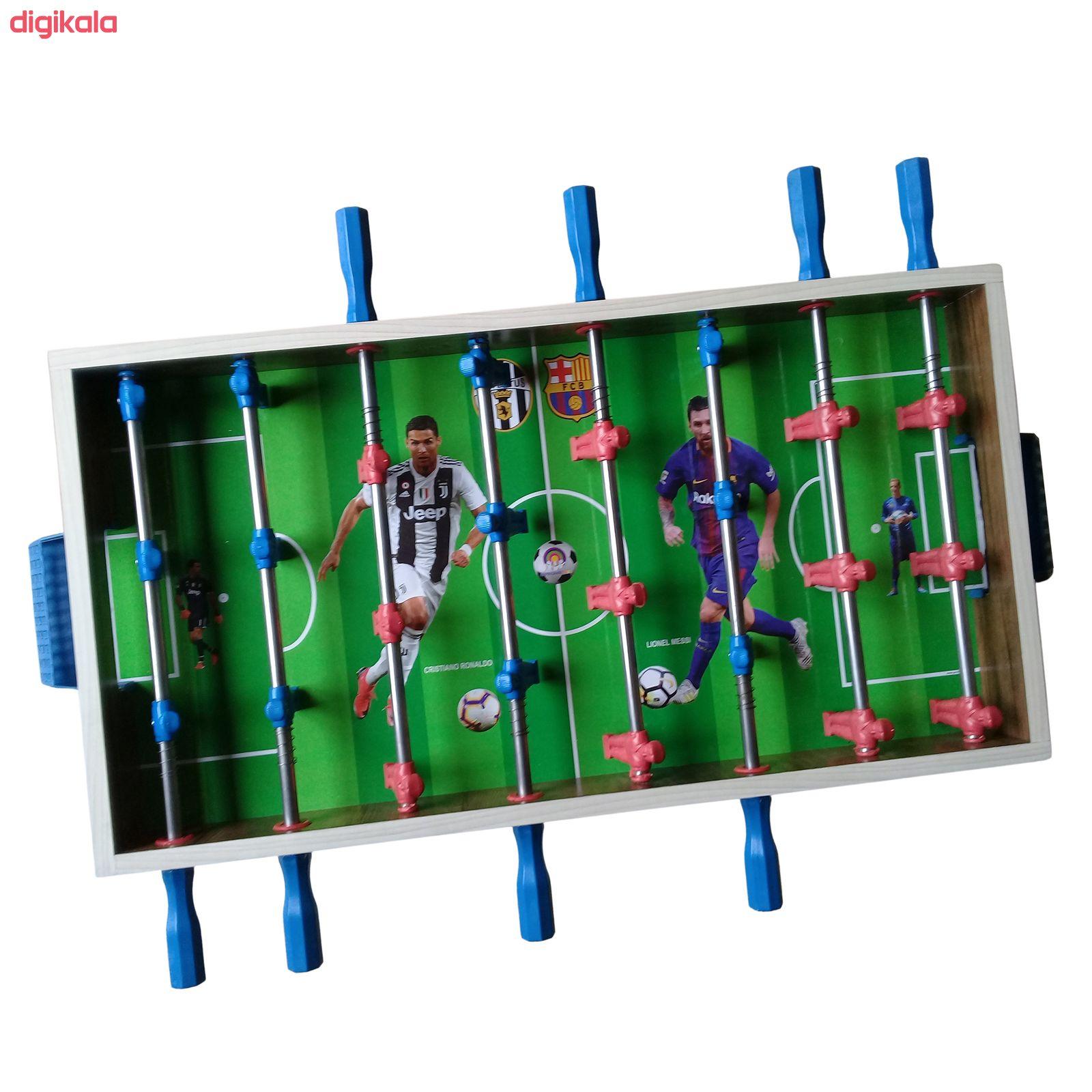 فوتبال دستی مدل ارمغان کد P-8M  main 1 3