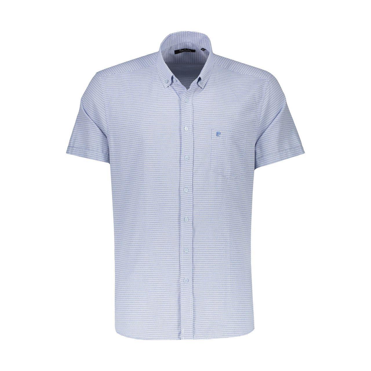پیراهن آستین کوتاه مردانه پیر کاردین مدل pc208