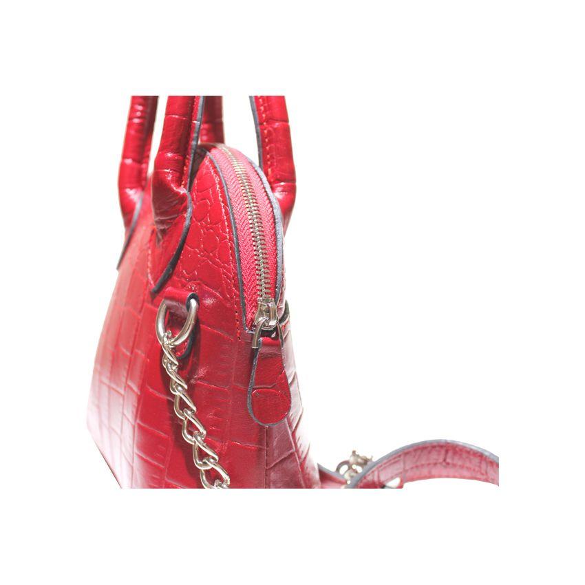 کیف دوشی زنانه چرم آرا مدل d076 -  - 20