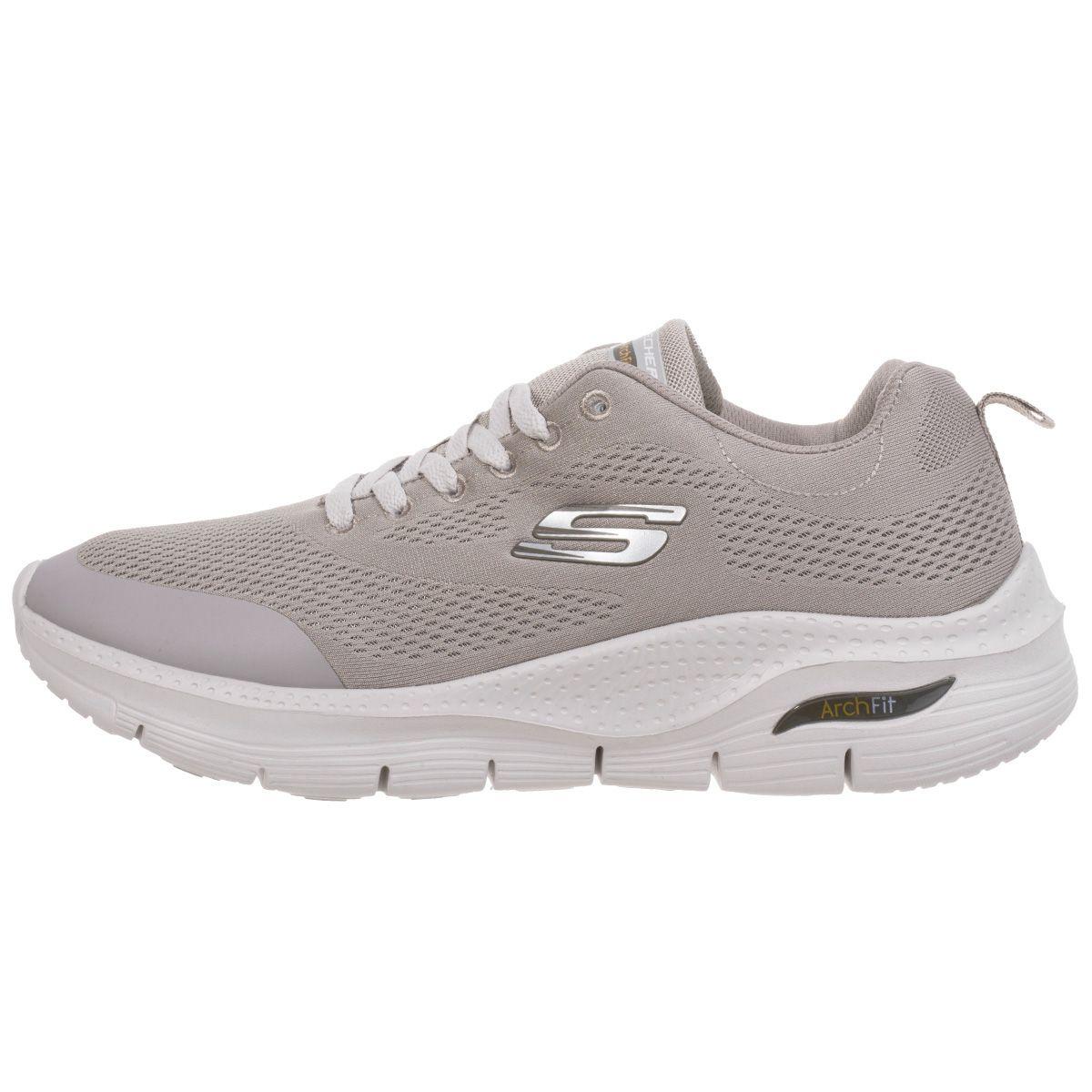 کفش پیاده روی مردانه اسکچرز مدل ArchFit GRY-1050151