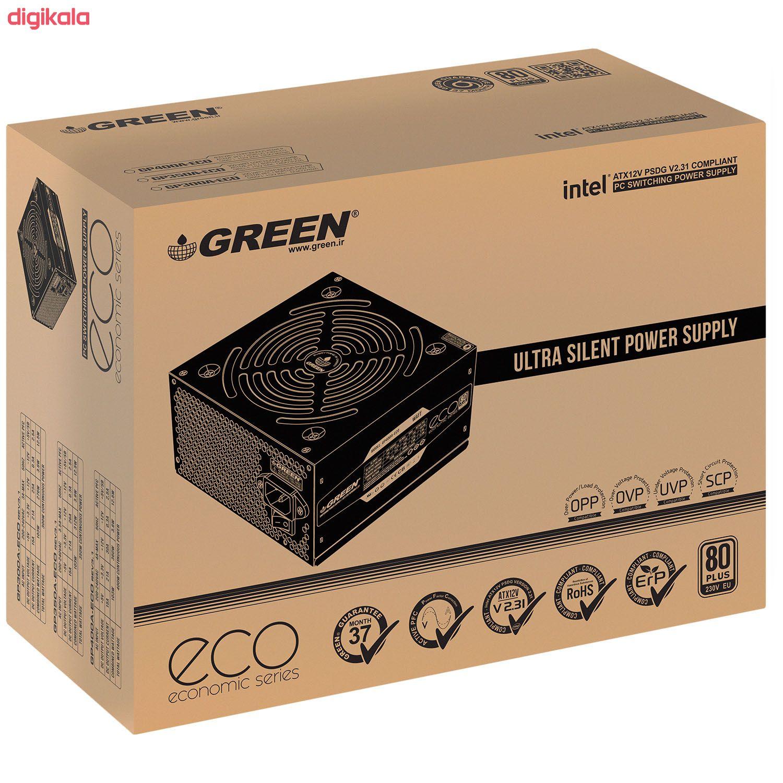 منبع تغذیه گرین مدل GP400A-ECO Rev3.1 main 1 4