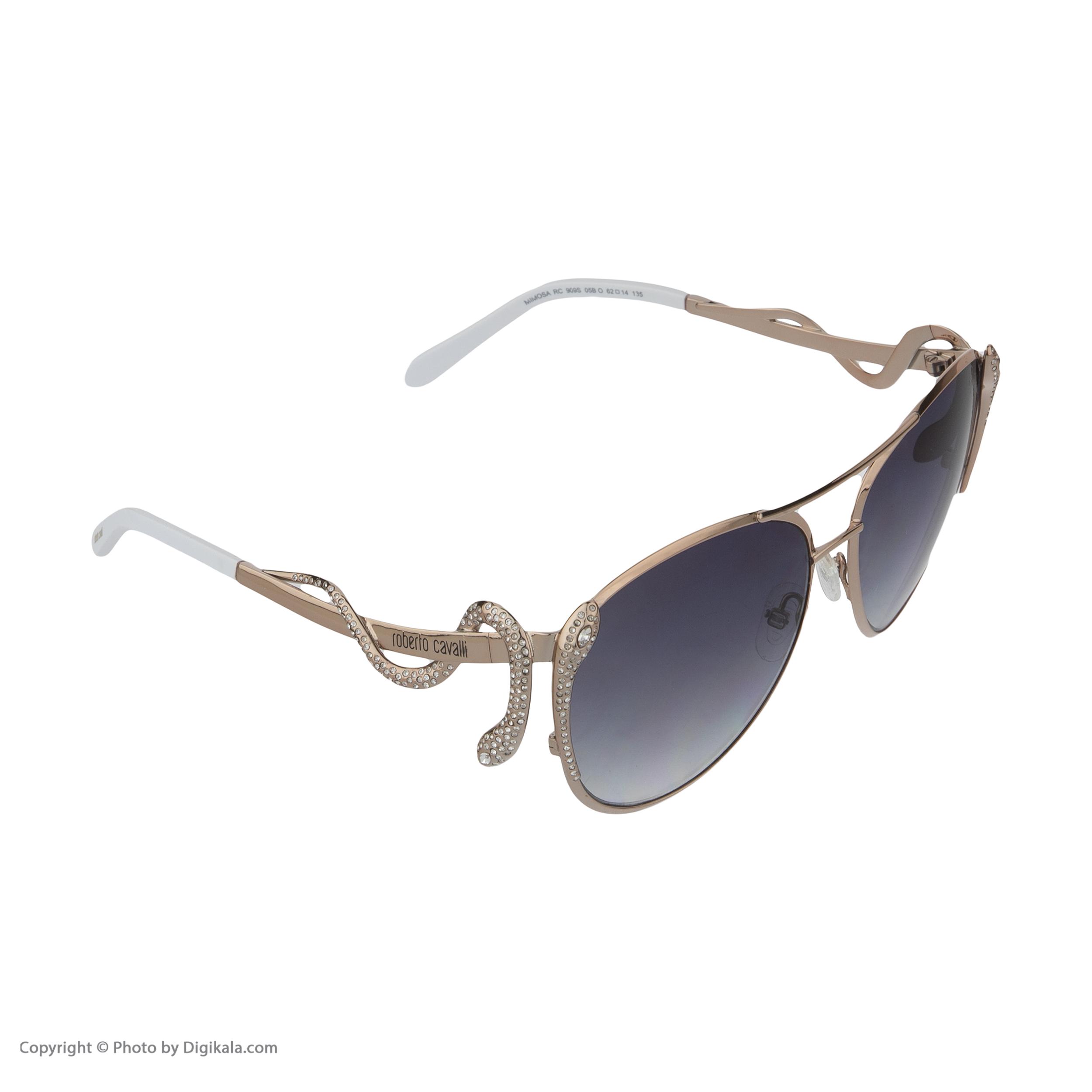 عینک آفتابی زنانه روبرتو کاوالی مدل 909 -  - 6
