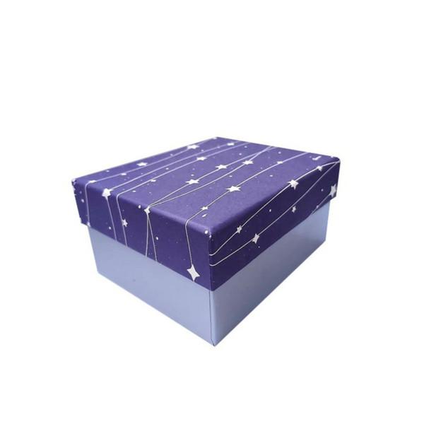 جعبه هدیه مدل شب پر ستاره