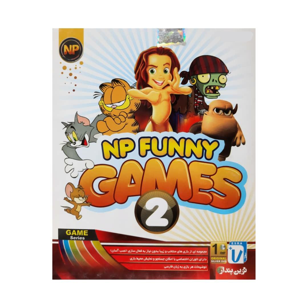 مجموعه بازی های کودکانه Funny games نشر نوین پندار