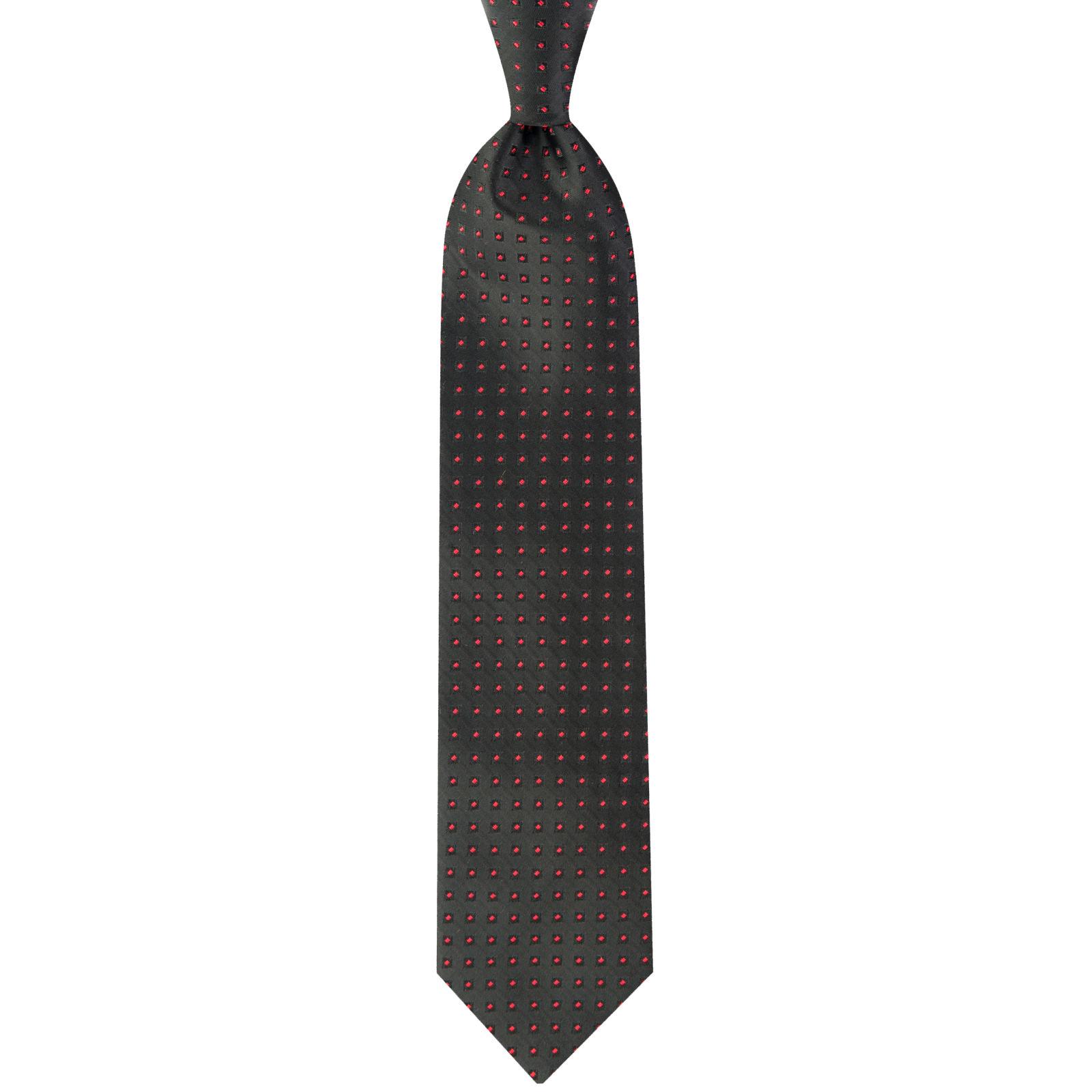 ست کراوات و دستمال جیب و گل کت مردانه جیان فرانکو روسی مدل GF-PA932-BK -  - 4