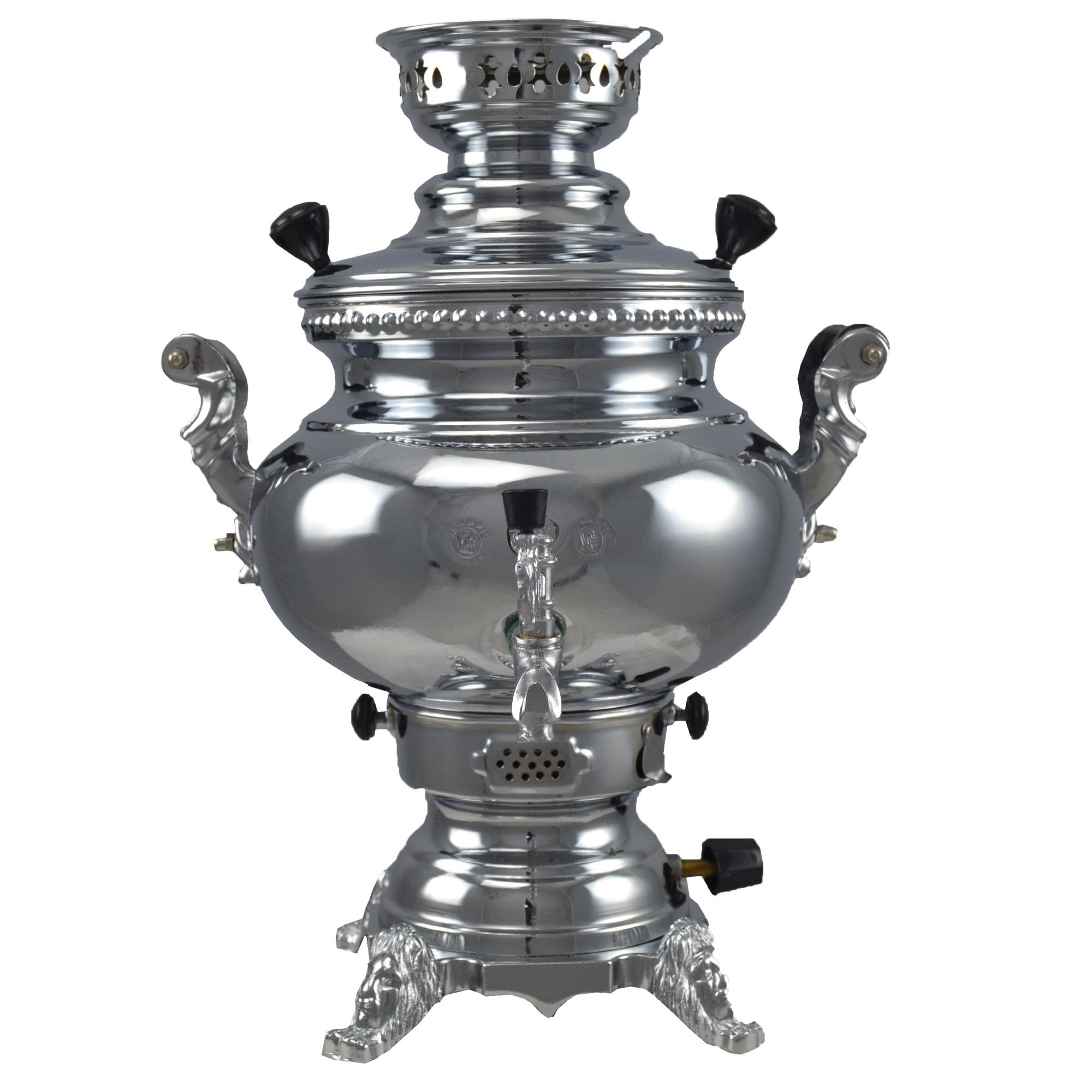 سماور گازی مدل المپیک 9 ظرفیت 6 لیتر