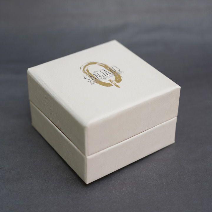 دستبند النگویی طلا 18 عیار زنانه سنجاق مدل X071474 -  - 6
