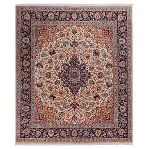 فرش دستباف قدیمی ده و نیم متری سی پرشیا کد 174525