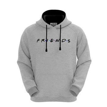 هودی مردانه فانتازیو مدل 123 طرح FRIENDS کد SHFR017