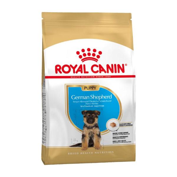 غذای خشک سگ رویال کنین مدل German Shepherd Puppy وزن 12 کیلوگرم