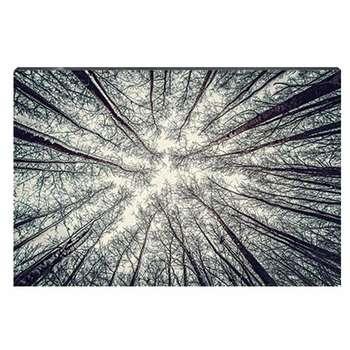 تابلو شاسی طرح جنگل بیبرگ پاییزی کد 4G-AVZ-6020