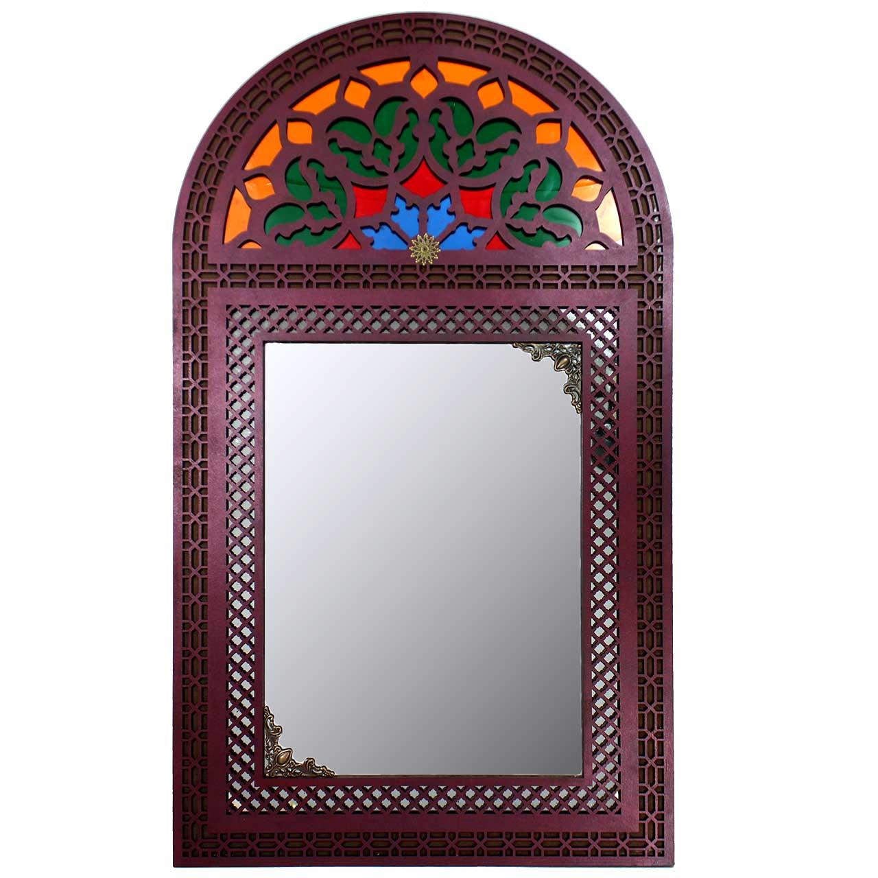 آینه دست نگار مدل پنجره سنتی کد 49.5