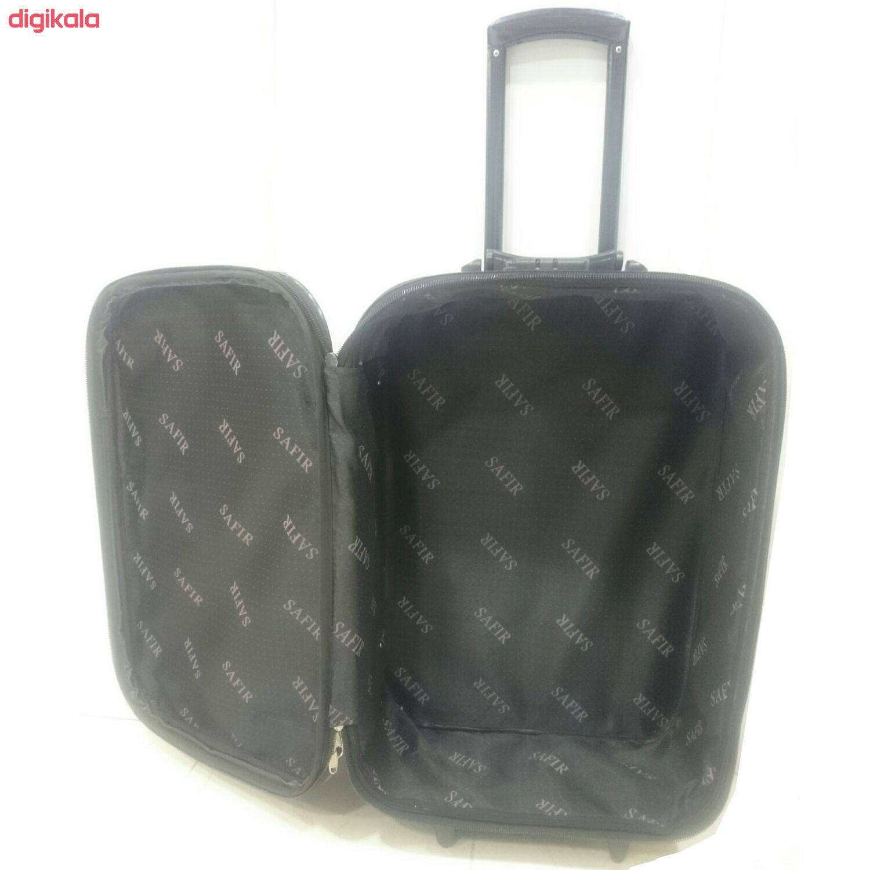 مجموعه دو عددی چمدان سفیر مدل t2420 main 1 5