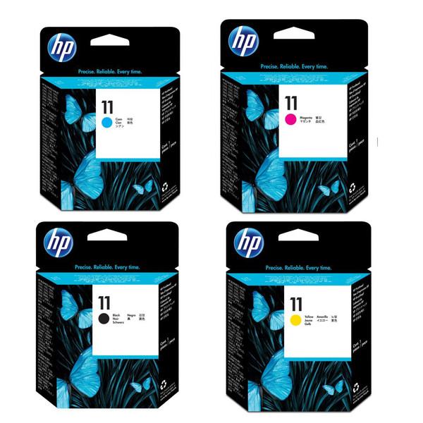 هد پرینتر اچ پی مدل 11 مجموعه چهار عددی