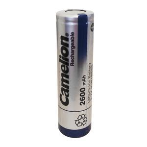 باتری لیتیوم-یون قابل شارژ کملیون کد ICR-18650 ظرفیت 2600 میلی آمپر ساعت