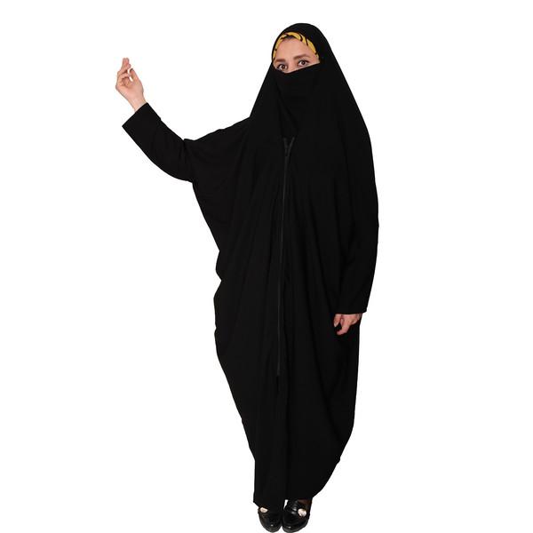 چادر لبنانی دخترانه مدل MA-HES140-LEB.CRP.NEGH-ME