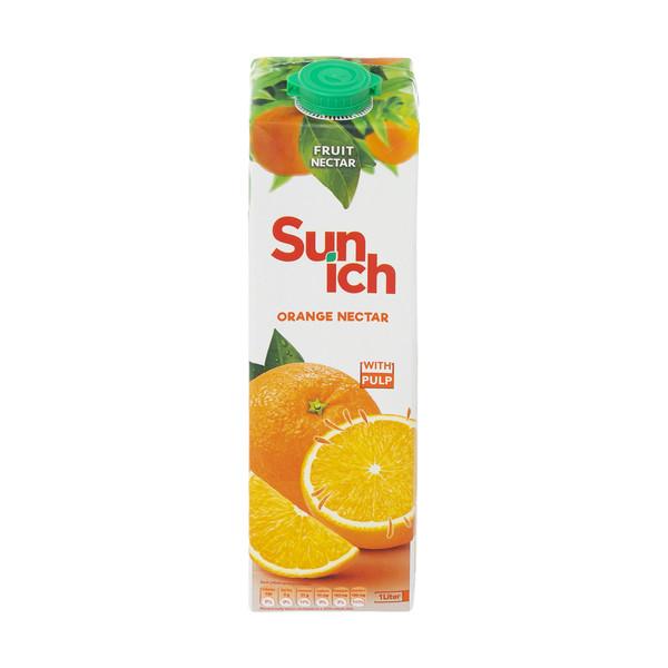 آبمیوه پرتقال پاپ دار سن ایچ حجم 1 لیتر