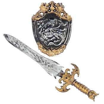 اسباب بازی جنگی مدل شمشیر و سپر