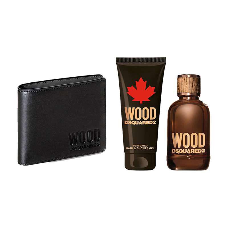 ست ادو تویلت مردانه دیسکوارد مدل Wood Pour Homme حجم 100 میلی لیتر