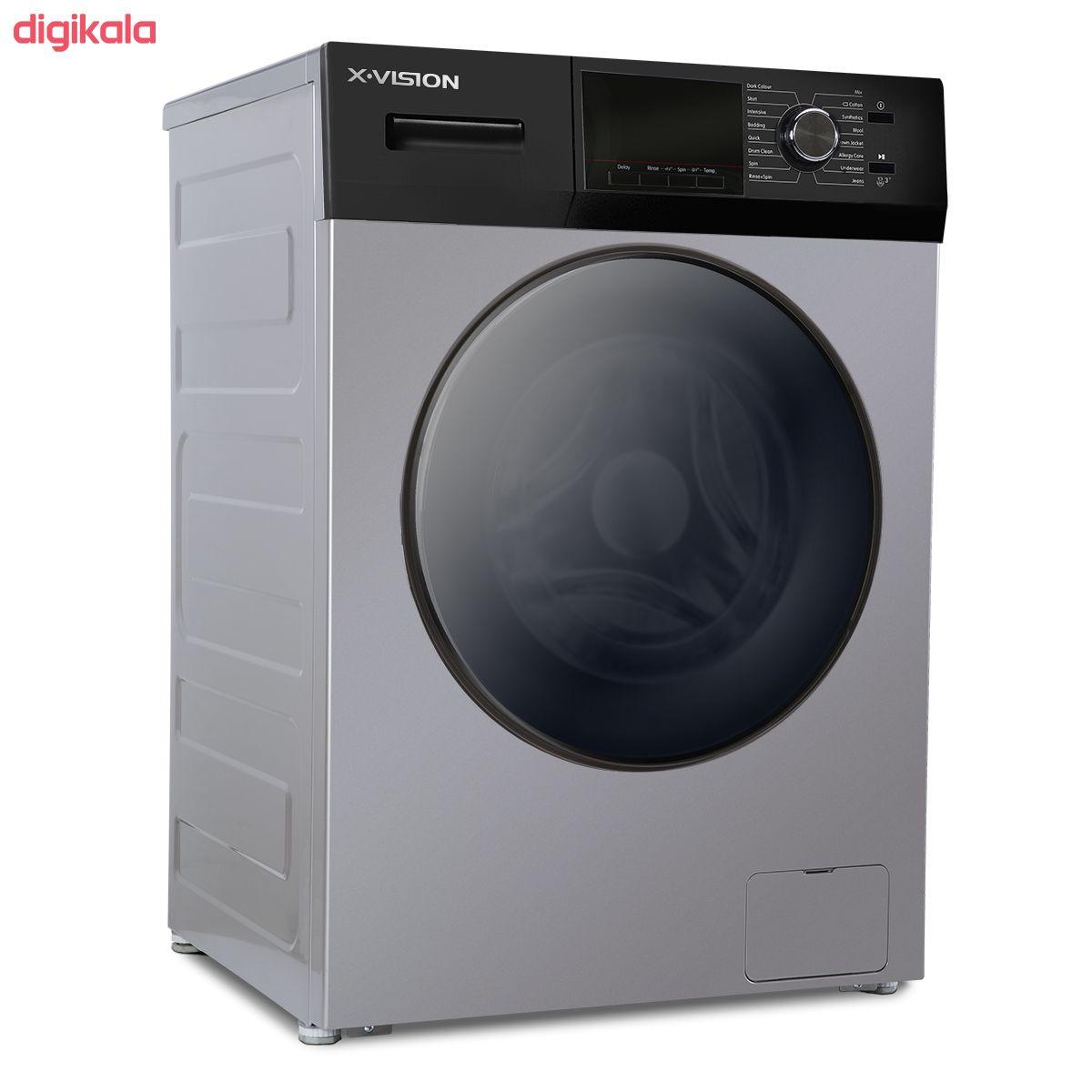 ماشین لباسشویی ایکس ویژن مدل TM84-BWBL/BSBL ظرفیت 8 کیلوگرم main 1 2