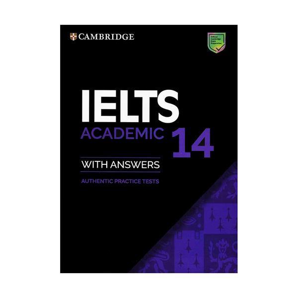 کتاب IELTS Cambridge 14 Academic اثر جمعی از نویسندگان انتشارات کمبریج