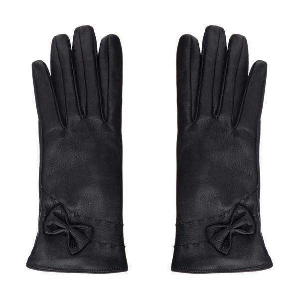 دستکش زنانه چرم مشهد مدل R0148-001