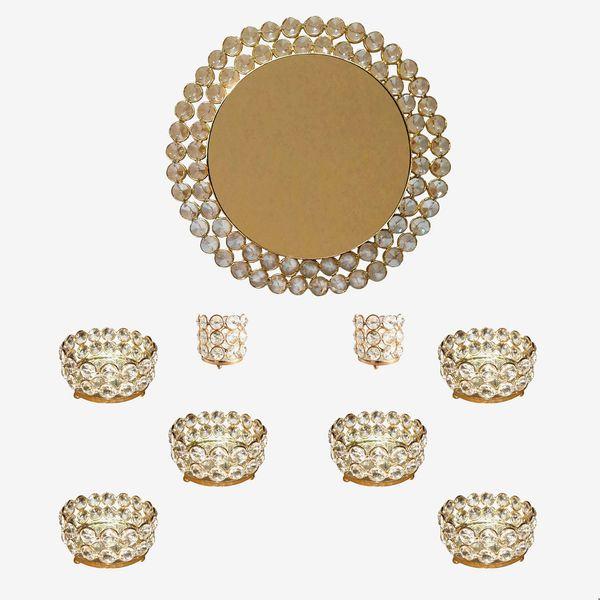 مجموعه ظروف هفت سین 9 پارچه مدل cbhftsnasl